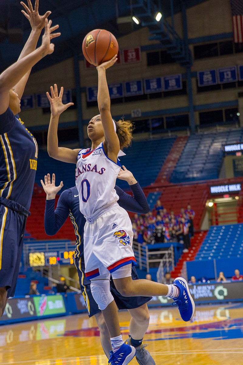 KU women's basketball vs. West Virginia | KUsports.com