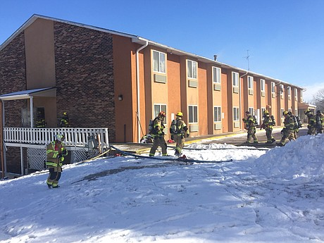 Lawrence Firefighters Enter America S Best Value Inn 515 Mcdonald Drive In Response To A Reported Fire Monday Jan 15 2018