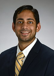 Dr. Anand Rajpara, dermatologist with the University of Kansas Health System
