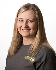 Meghan Chaffin, Free State High School's athletic trainer