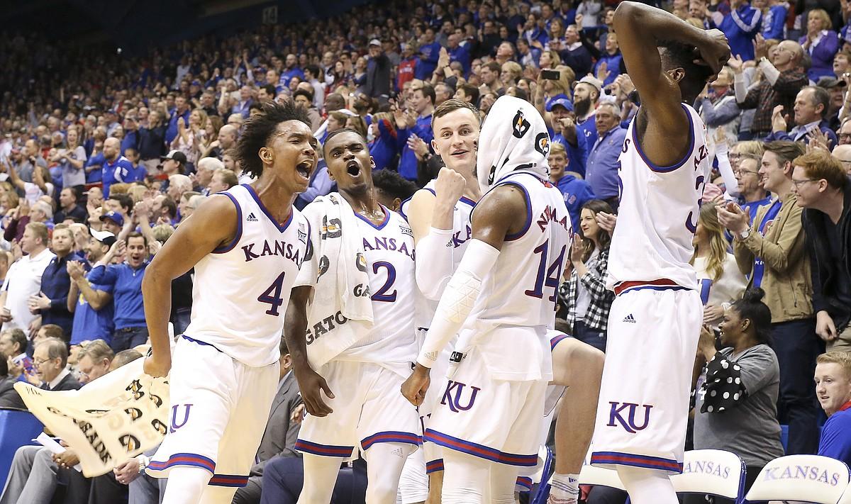 Postgame Report Card Kansas 104 Oklahoma 74 Tale Of