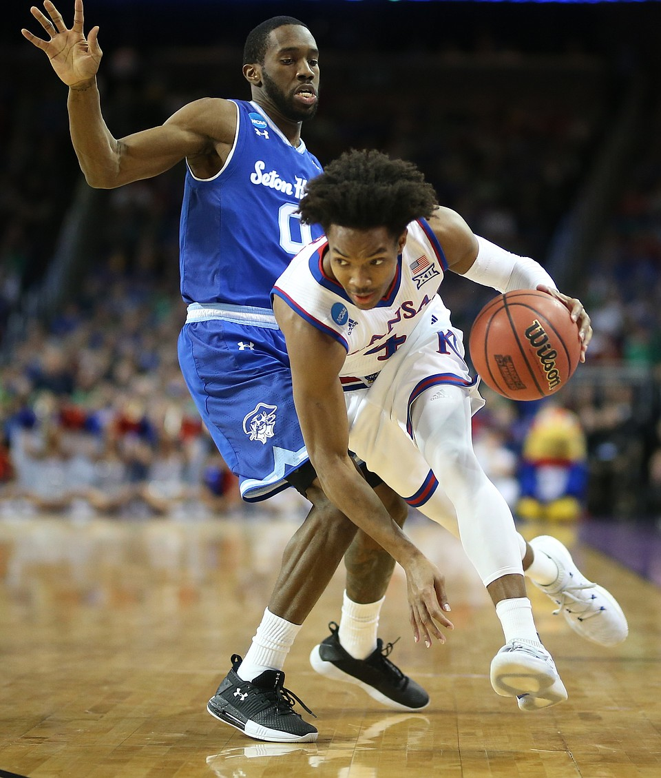 Kansas Basketball V. Seton Hall