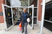 Lawrence resident Syed Jamal exits the Platte County Jail, Tuesday, March 20, 2018, in Platte City, Mo., after a judge ordered his release at a hearing earlier in the day.