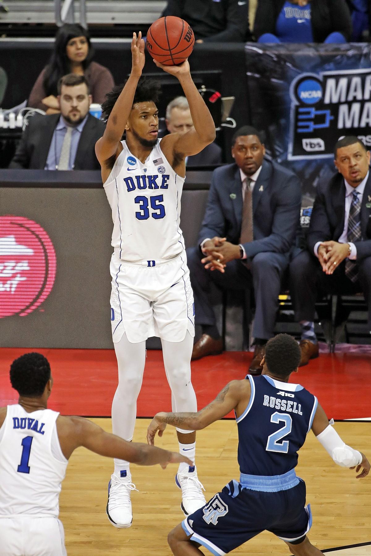 Rhode Island Vs Duke Basketball