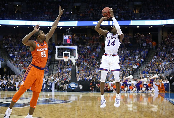 5 stats that popped for kansas in a sweet 16 victory over clemson