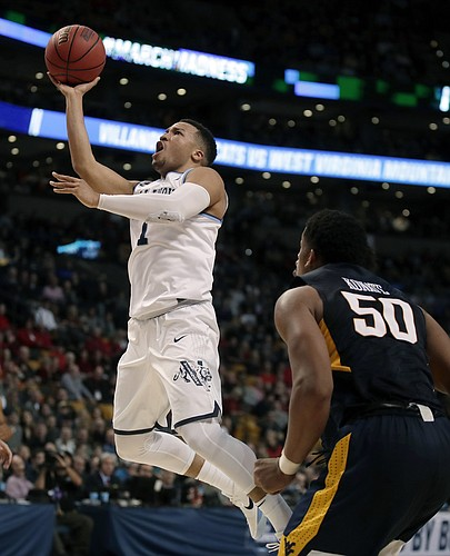 Villanova point guard Jalen Brunson (AP photo)