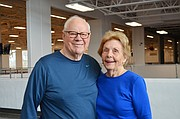 Wayne and Donna Osness have been instrumental in Lawrence Memorial Hospital's development of regular exercise classes for people with Parkinson's disease. Wayne, who has Parkinson's, is a professor emeritus for the KU health, sport and exercise science department.