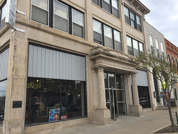 The space that formerly housed Hobbs at 700 Massachusetts Street.