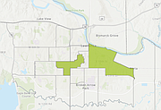 The two areas of Lawrence being nominated as opportunity zones under the new federal tax law include much of East Lawrence and the University of Kansas campus, including the west campus.