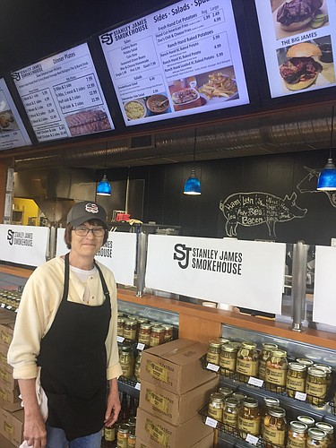 Rosie Newman is general manager of Stanley James Smokehouse at 1500 E. 23rd Street.
