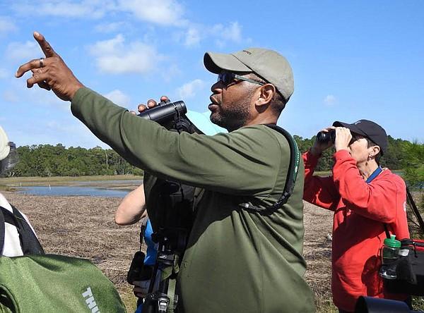 Birding with J. Drew Lanham. Credit: audubon.org.