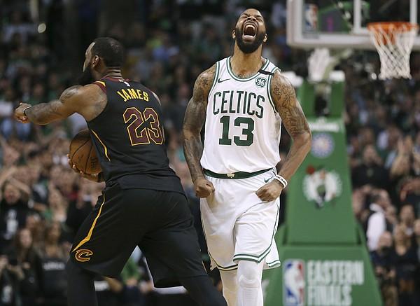 8af95af92 Boston Celtics forward Marcus Morris
