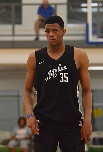 Class of 2021 prospect Jaylon McDaniel of MoKan Elite.