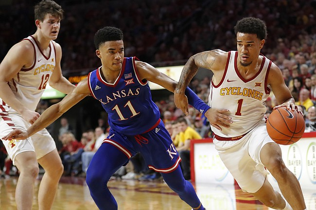 Quick recap: No. 5 Kansas suffers 77-60 loss to Iowa State ...