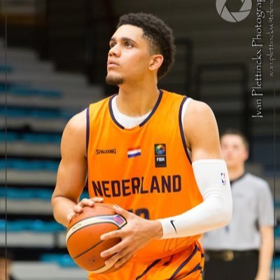 Tristan Enaruna in Dutch national team gear (photo courtesy of @TristanEnaruna)