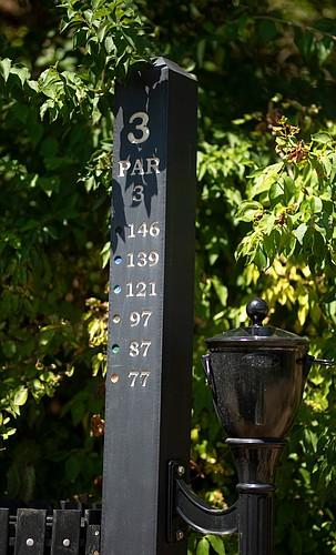 Hole #3 at Canyon Farms Golf Club in Lenexa.