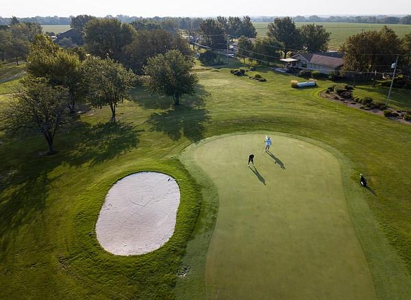 Western Hills Golf Club, hole No. 13.