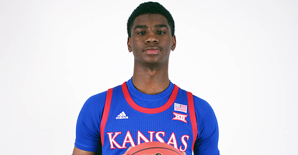 Class of 2020 guard Tyon Grant-Foster, who joined the Kansas men's basketball program after two seasons at Indian Hills Community College in Iowa, will wear jersey No. 1 for Kansas during the 2020-21 season.