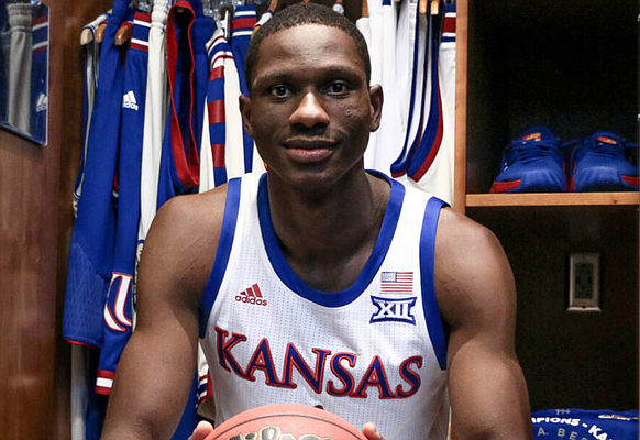 Incoming Kansas freshman Gethro Muscadin announced on May 23, 2020, that he will wear No. 35 for the Jayhawks during the 2020-21 season.