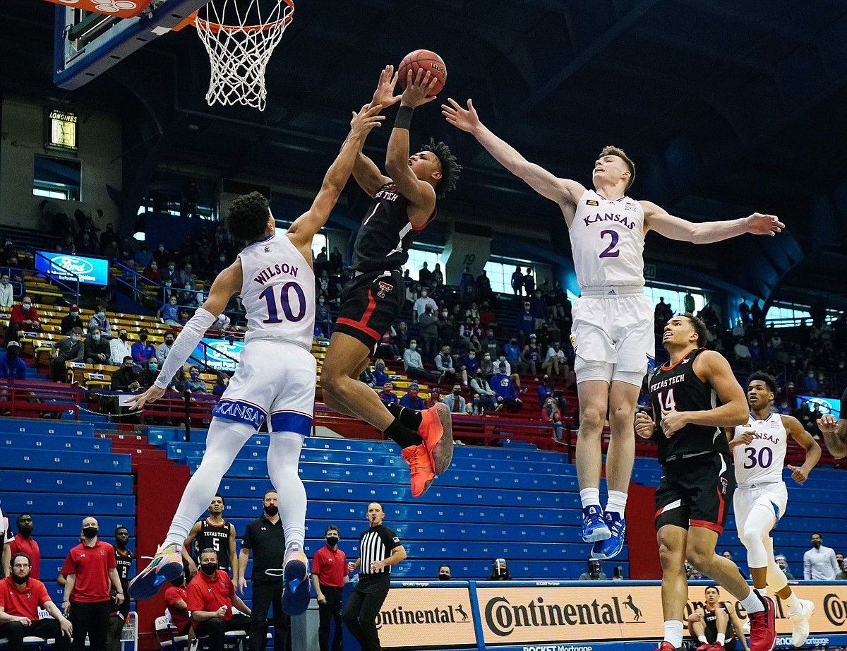 Texas Tech basketball: KU has just enough answers to down