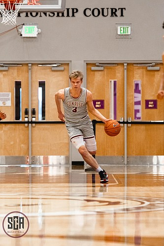 Sunrise Christian Academy junior Gradey Dick, a five-star prospect in the Class of 2022, orally committed to play basketball at the University of Kansas on March 3, 2021.