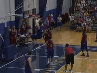 Bill Self basketball camp scrimmage