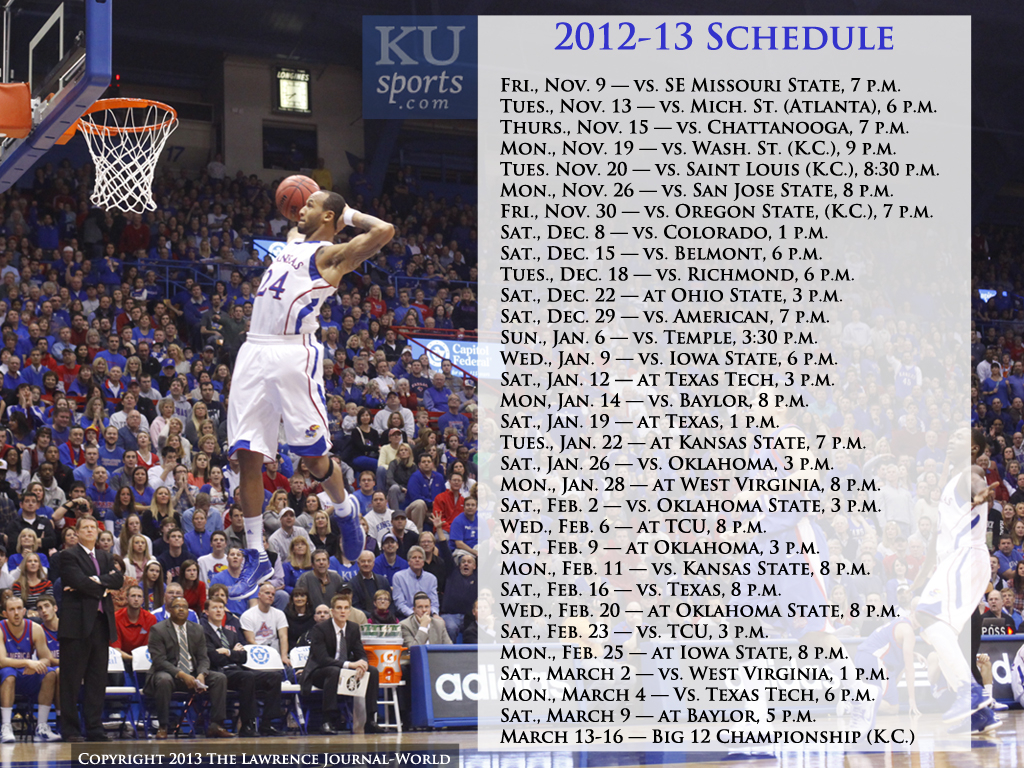 2012-13 kansas men's basketball wallpapers | kusports