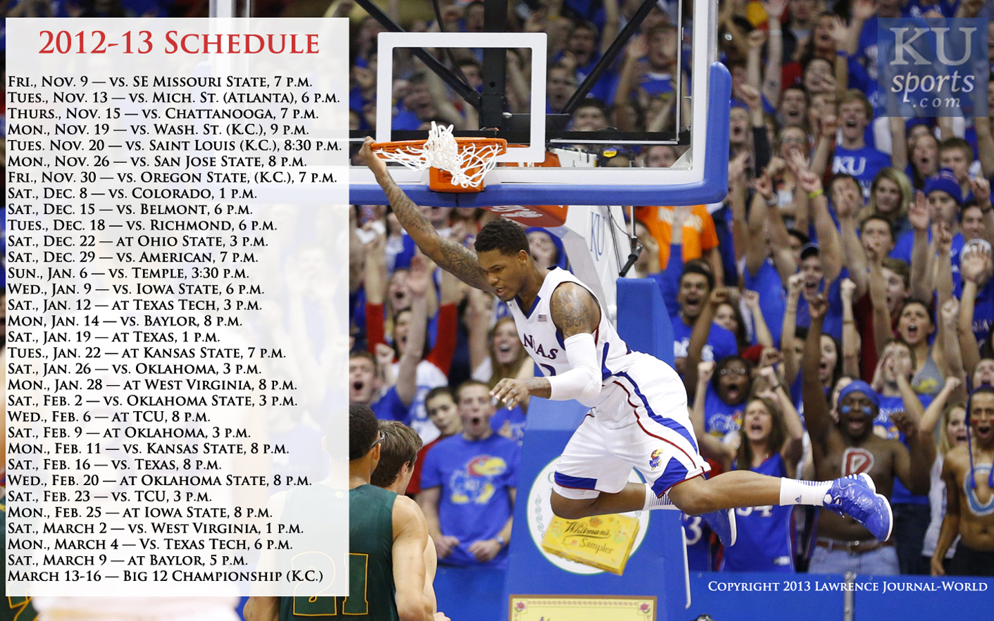 Ku Basketball Wallpaper