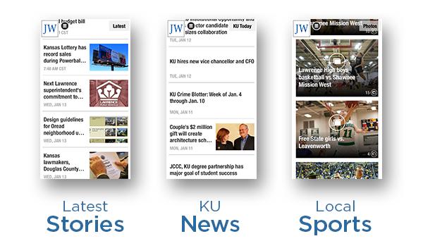 Latest Stories  •  KU News  •  Local Sports