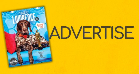 Advertise in the Best of Lawrence magazine