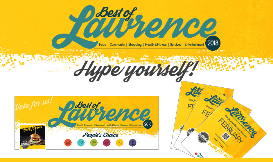 Best of Lawrence 2018 promotional materials