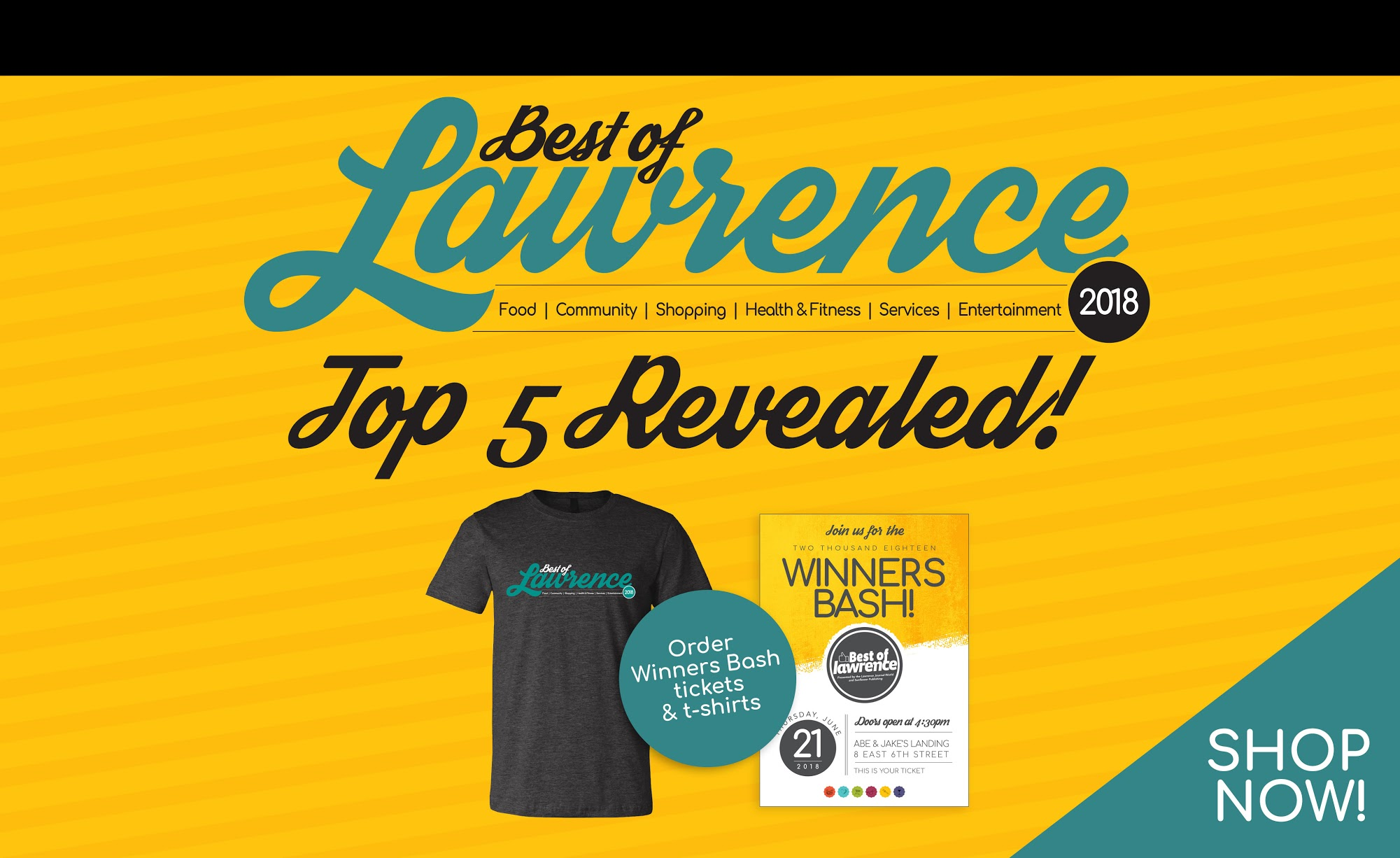 Best of Lawrence 2018: Top 5 Revealed!