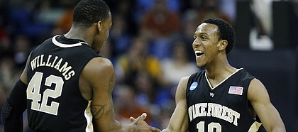 Wake Forest tops Texas 81-80 in OT on Smith's shot | KUsports.com ...