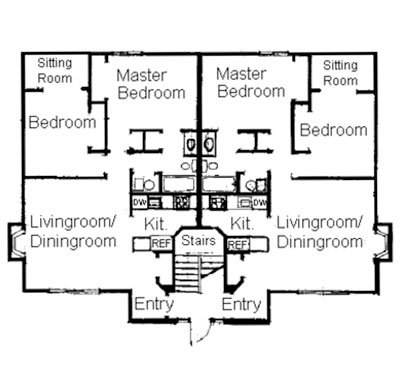 Average Square Footage Of A 3 Bedroom Apartment