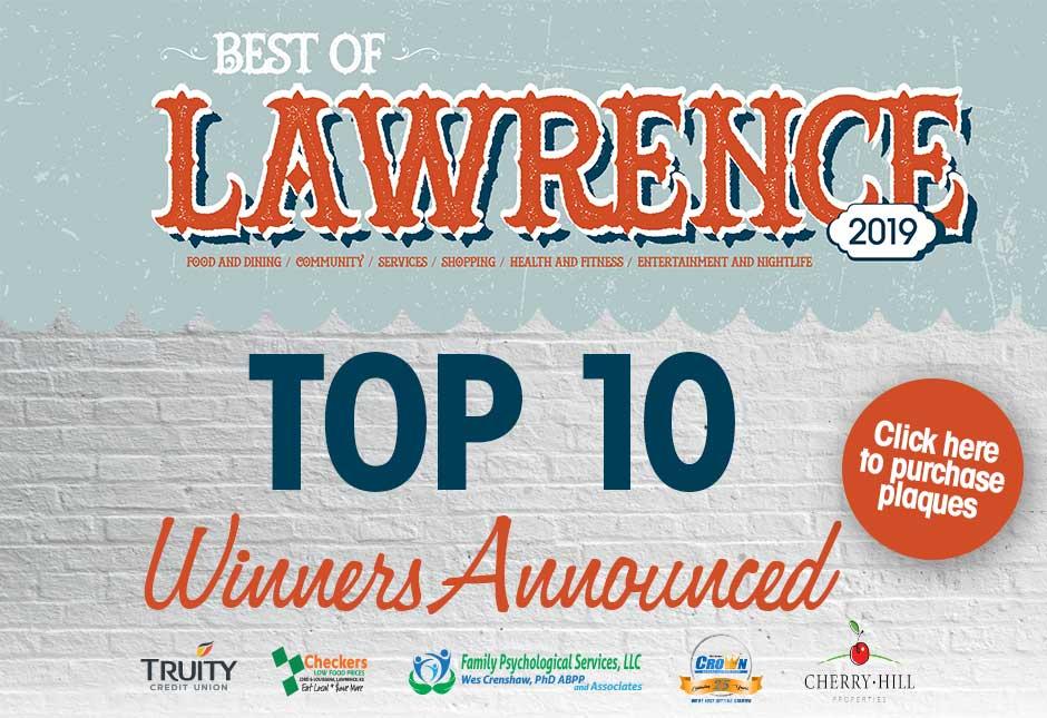 Best Of Lawrence 2019 Winners Revealed
